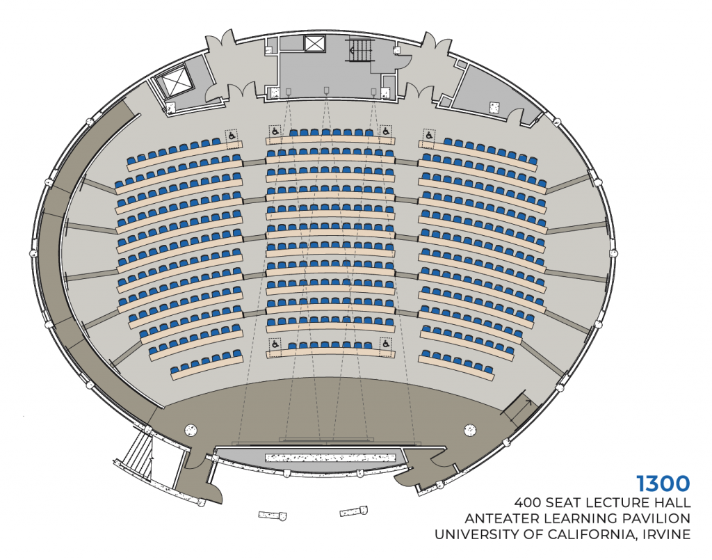 ALP 1300 - 400 Seat Lecture Hall